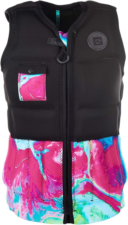 Mystic WatersportsSurf KiteSurf & Windsurfing Womens Diva Front Zip Wake Impact Vest Top Aurora