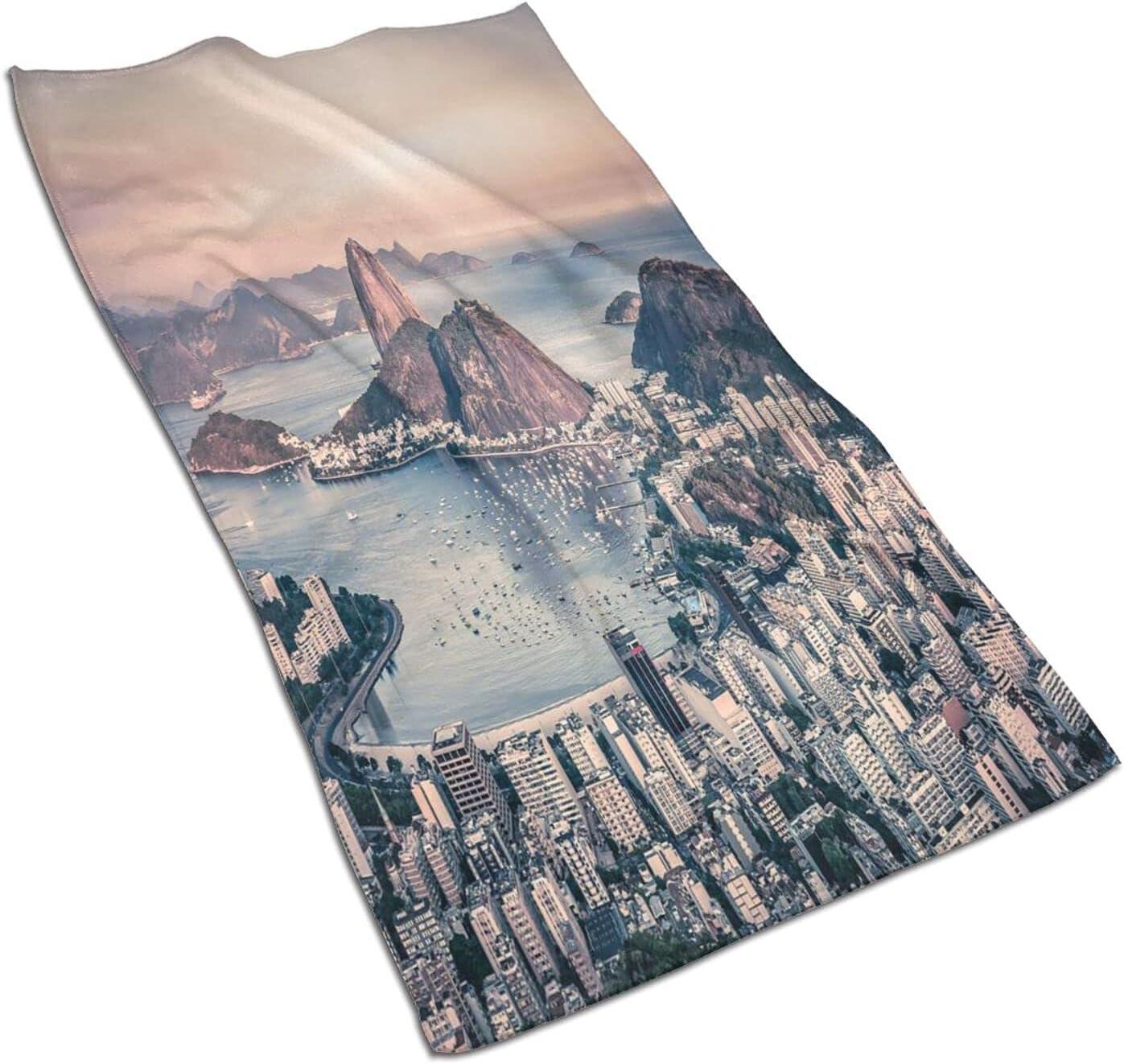 VINISATH 2 Pc Manufacturer regenerated product Hand Towels Set Sale Rio Coastline Janeiro Photo De Bra