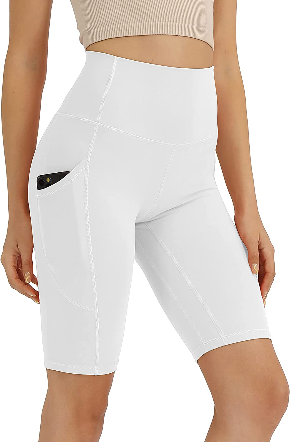 Direct sale of manufacturer ODODOS Women's High Waisted Biker 5†Out Shorts Pockets Sale price with