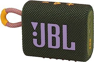 JBL GO 3 Portable Waterproof Bluetooth Speaker - Green