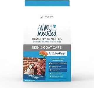 WholeHearted Grain Free Skin and Coat Care Pea and Salmon Recipe Dry Dog Food