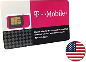 T-Mobile Prepaid SIM Card Unlimited Talk, Text, and Data for 10 days (For use in United States)