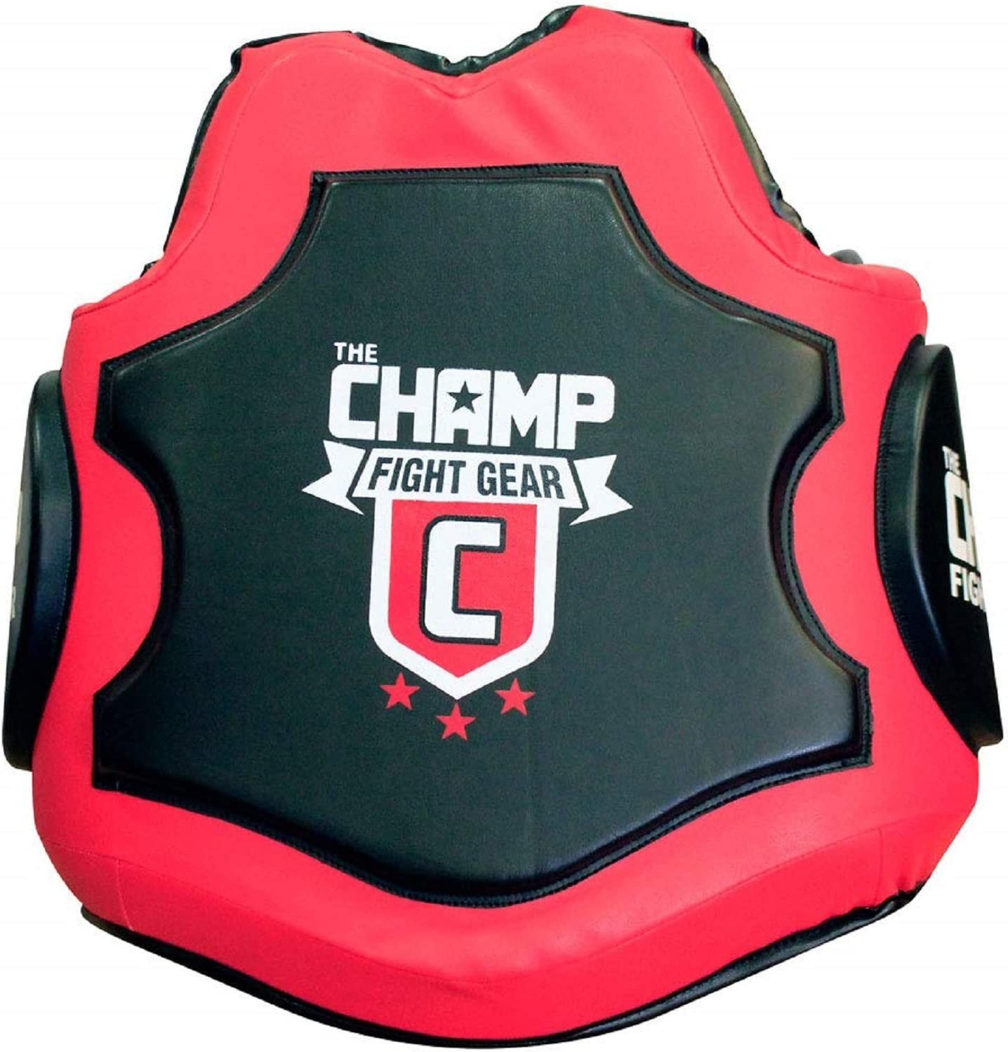 Amber MMA Body Protector Martial Arts Rib Shield Max 76% OFF Black in Red 3 It is very popular