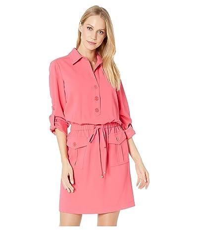 Trina Turk Permit Dress (Grapefruit) Women