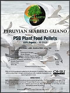 Living Earth Farms Peruvian Seabird Guano