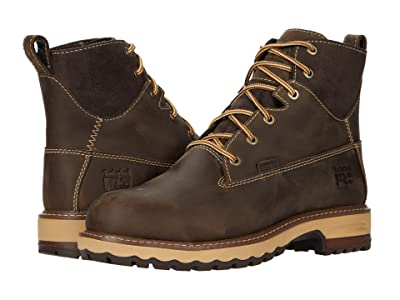 Timberland PRO Hightower 6 Alloy Safety Toe Waterproof (Dark Brown) Women