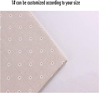 Linen Tablecloth Custom Tablecloth Household Coffee Round Tablecloth Printing Linen,White,140160Cm