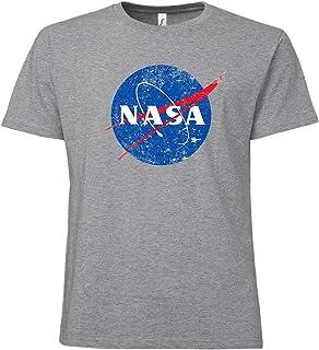 Camiseta para hombre, diseño con logotipo de NASA