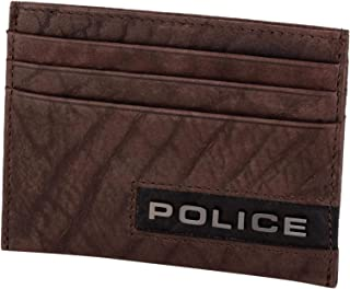 Police Ltr Card Case Dark Brown Droid, Dark Brown (4895148689172)