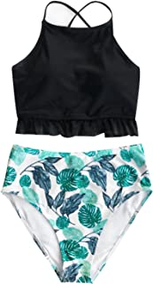 Women's Lingering Charm High-Waisted Bikini Set Beach Swimwear Bathing Suit
