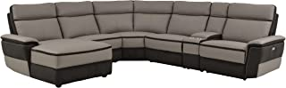Best reclining sofa with chaise and console Reviews
