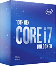 Intel Core i7-10700KF Desktop Processor 8 Cores up to 5.1 GHz Unlocked Without Processor Graphics LGA1200 (Intel 400 Serie...