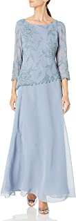 Women's 3/4 Sleeve Beaded Dress