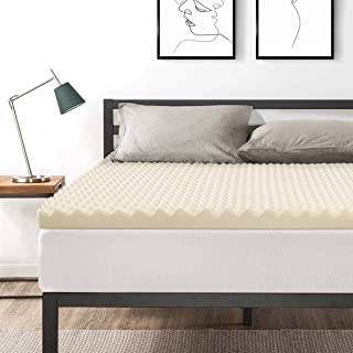 Best Price Mattress Full 3 Inch Egg Crate Memory Foam Bed Topper with Copper Infused