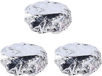 Lurrose 6pcs papel de aluminio para hornear, aceite para ...
