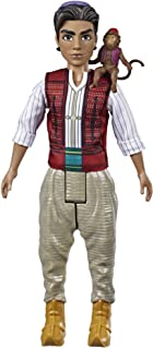 Disney Aladdin Fashion Doll with Abu, Inspired by Disney's Aladdin Live-Action Movie, Toy for Kids 3 Years Old & Up