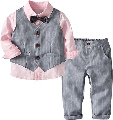 Conjunto de Cuatro Piezas para Bebé Niño 1-4 Años Ropa Niño y ...