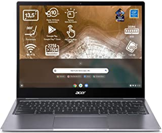 "Acer Chromebook Spin 713 - Portátil 13.5"" QHD (Intel Pentium Gold 6405U, 8GB RAM, 128GB SSD, Intel UHD Graphics, Chrome OS..."