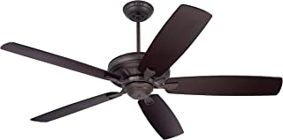 Emerson Ceiling Fans CF784ORB Carrera, 60-Inch Indoor Ceiling Fan, Light Kit Adaptable, Oil Rubbed Bronze Finish