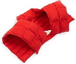 Amilian Rogal podróżny z częścią pleców i stójką na kark, plecy, poduszka z pestkami wiśni, poduszka rozgrzewająca, podusz...