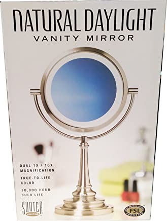 Sunter Natural Daylight Vanity Makeup Mirror,  NEW 2015 Model