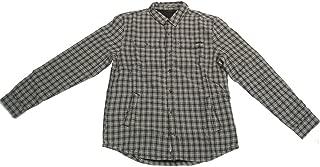 Men's Fleet Flannel Button Up Long-Sleeve Shirts