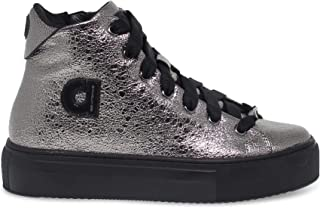 Ruco Line Luxury Fashion Womens RUCO2819CA Grey Hi Top Sneakers | Fall Winter 19