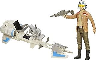 Star Wars: The Force Awakens Speeder Bike and Poe Dameron 12-Inch Figure