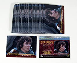 Lot of (50) 2002 Topps The Lord of the Rings Two Towers Promo Card (L1) Nm/Mt