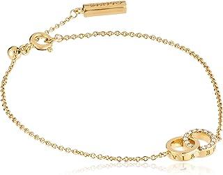 Olivia Burton Women'S Brass Rose Gold Chain Bracelets -OBJCOB07