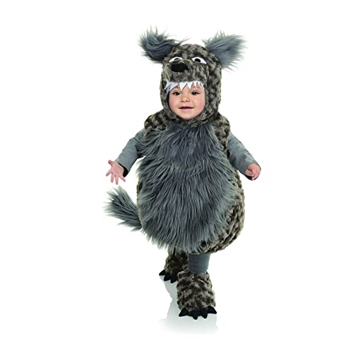 Black And White Puppy Animal Belly Babies Toddler Costume