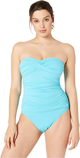 Island Goddess Bandeau One-Piece