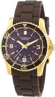 ساعة فيكتورينوكس سويس ارمي للسيدات كوارتز 241615 مع حزام مطاطي