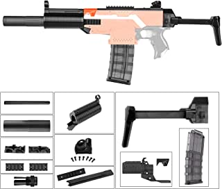 JGCWorker Mod Kit Set for Nerf N-Strike Elite Stryfe Blaster Upgrade Model Nerf Modulus Attachment (MPS-SD)