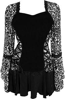 Dare to Wear Victorian Gothic Boho Women's Plus Size Bolero Corset Top