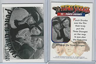 1997 Duocards, Three Stooges, 22 Punch Drunks