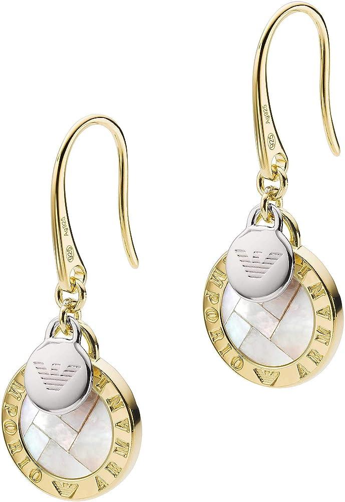 Orecchini donna gioielli emporio armani trendy in argento 925