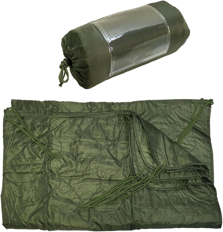 OD Green 86''L x 58''W G I Style Poncho Liner Blanket