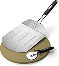 Cuisinart CPS-445, 3-Piece Pizza Grilling Set, Stainless Steel