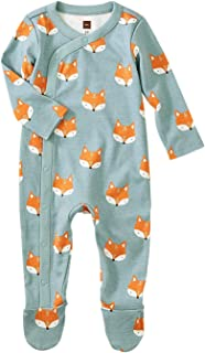 Tea Collection Footed Romper, Foxes, Multiple