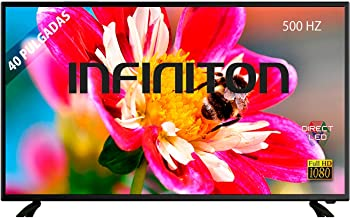 "TV LED 40"" INFINITON Full HD - Reproductor y Grabador"