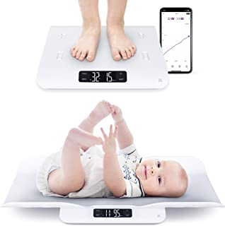 GreaterGoods Smart Baby Scale, Toddler Scale, Pet Scale, Infant Scale with Hold Function, Free App Included