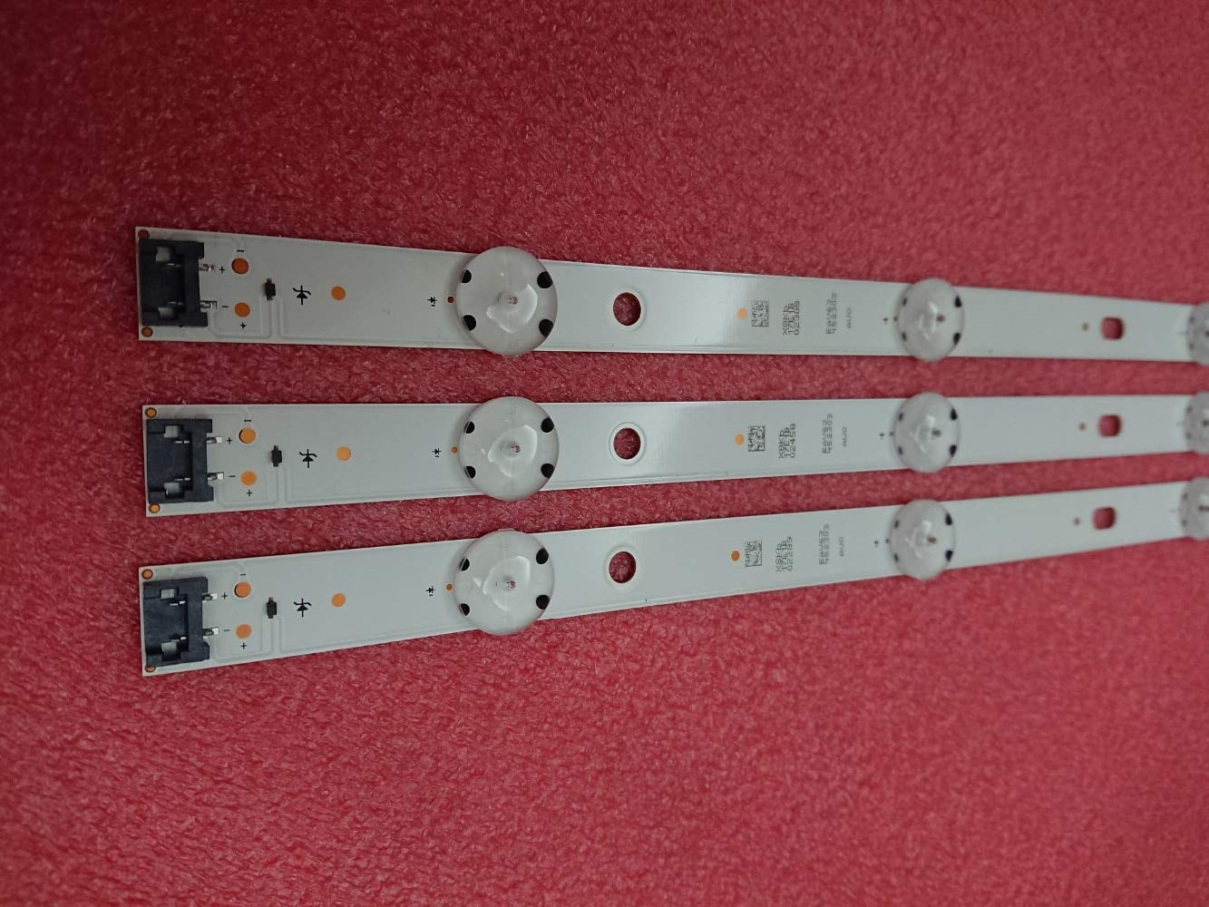 Led Iluminación Nuevo Kit 3 Piezas 8Led 850 Mm Led Backlight Strip ...