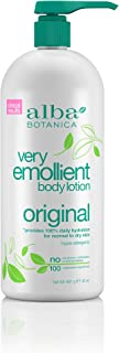 Alba Botanica Very Emollient Original Body Lotion, 32 oz.