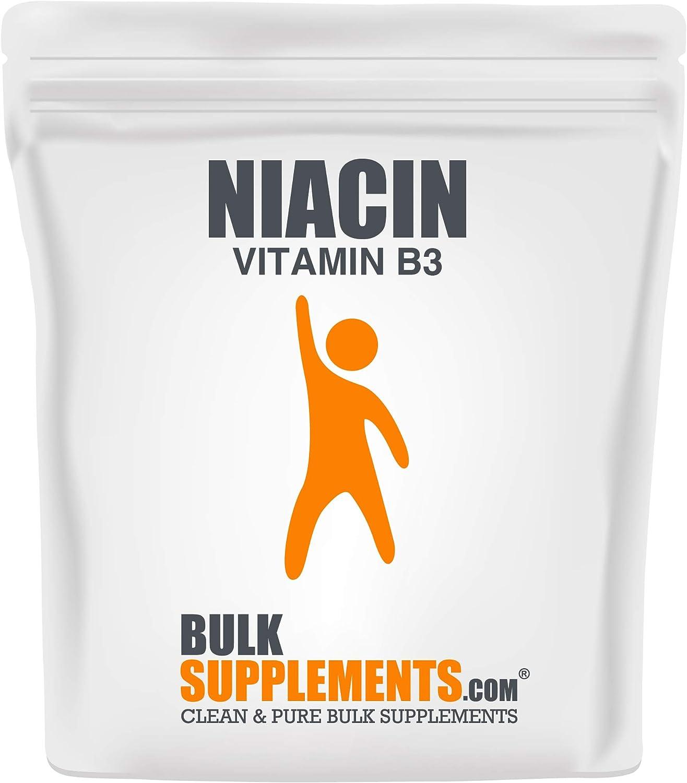 Complete Free Shipping Milwaukee Mall BulkSupplements.com Niacin Vitamin B3 Powder Cholesterol - Sup