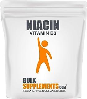 Bulksupplements Niacin (Vitamin B3) Powder (250 Grams)
