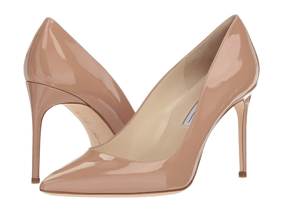 Brian Atwood Valerie (Cappuccino Nude Patent) Women