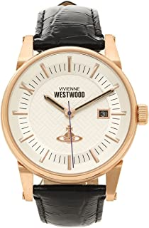 [ヴィヴィアンウエストウッド] 腕時計 メンズ Vivienne Westwood VV065SWHBK ブラック ホワイト [並行輸入品]