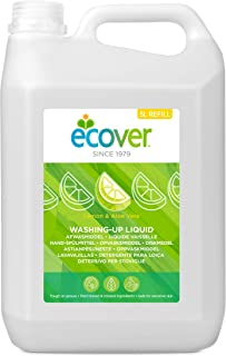 Ecover Washing-Up Liquid Lemon and Aloe Vera, 5 Liters