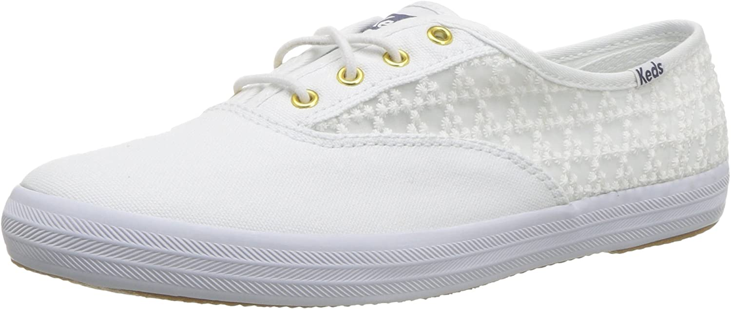 Keds Womens Champion Embroidered Triangle Sneaker